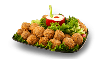 Spicy Cajun Boudin Ball Tray