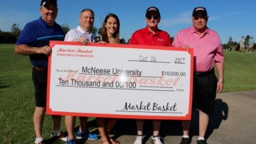 McNeese State University Receives Donation From The Market Basket Charitable Foundation