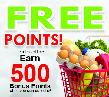 Claim Your Bonus Points!